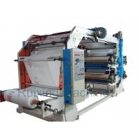 China CE Certificated High Speed Non Woven Printing Machine in Red Blue Purple Yellow on sale