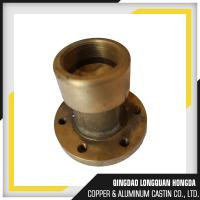 Wholesale Brass / Bronze Gravity Die Casting Parts Size Customized For Automotive from china suppliers