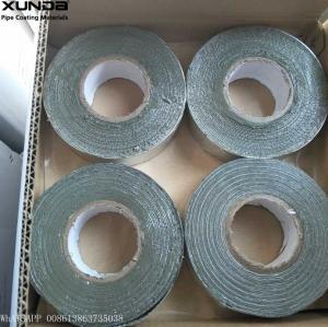 China Gray / Black Butyl Sealing Tape , Aluminium Lamination Butyl Flashing Tape on sale