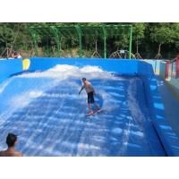 Wholesale Water Park Surfing Skateboard Equipment Fiberglass Flowrider With Wave Surfing Machine from china suppliers