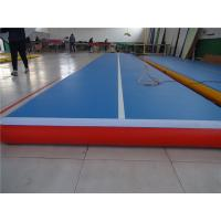 Quality Gymnastic Club Inflatable Bounce Mat , Air Pro Tumble Track Long Life Span for sale