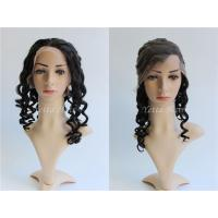 7A Grade Loose Wave Glueless Full Lace Human Hair Wigs For Black Women for sale