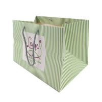 China Eco - Friendly Paper Printing Services Paper Carrier Bags With Twisted Handles for sale