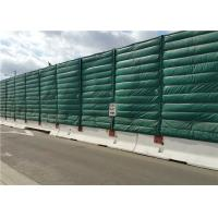 Wholesale Noise absorption and insulation PP plus PET materials Temporary Noise Barriers Manufactuer from china suppliers
