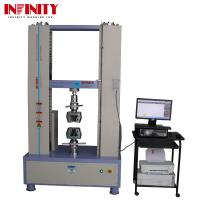 Wholesale 100Kn 200Kn 300Kn Rebar Metal Plastic Textile Tape Universal Tensile Testing Machine from china suppliers