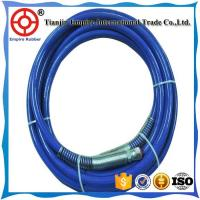 Wholesale SAE 100 R7 synthetic fiber reinforced orange cover thermoplastic hydraulic rubber hose from china suppliers