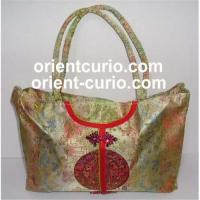 Buy cheap Silk Satin Blend Handbag, Chinese antique furniture, silk embroidery, cushion, from wholesalers