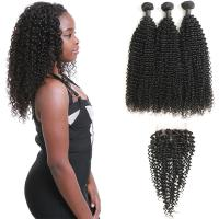 Wholesale Authentic 9A Virgin Peruvian Remy Natural Wave Hair Kinky Curly CE Certification from china suppliers