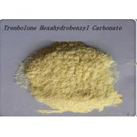 Wholesale 99% Yellow Steroid Hormone Powder Trenbolone Hexahydrobenzyl Carbonate from china suppliers