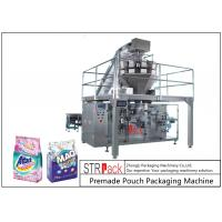 Buy cheap Powder / Granules Premade Pouch Packaging Machine High Efficiency With Linear Weigher from wholesalers