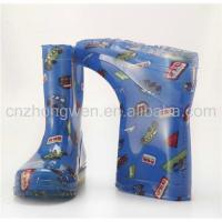 China Boys Cute Rain Boots on sale