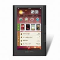 Wholesale E-book Reader with 7-inch TFT Touchscreen Panel, CPU of RK2818 Arm 9 DSP and Android 2.1 OS from china suppliers