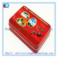 Wholesale metal square tea box from china suppliers