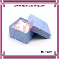 Wholesale Cardboard and Paper Jewelry Gift Boxes Cotton Filled ME-TB008 from china suppliers