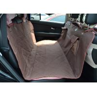 Buy cheap Personalized Quilted Pet Car Seat Covers Hammock Heavy Duty Material from wholesalers