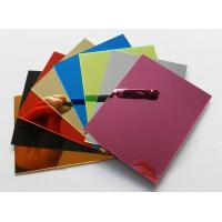 Buy cheap Plastic Mirror Sheets - Plastic Mirror Sheet Wholesale 1220x2440mmx3mm thickness from wholesalers