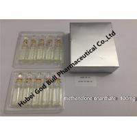Wholesale Methenolone enanthate 100mg/ml 1ml / vial anpoule bottle dihydrotestosterone from china suppliers