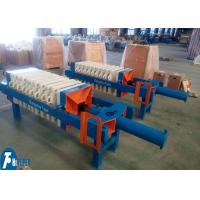 Wholesale Polypropylene Filter Press With Plate One - Time Automatically Opened Discharge from china suppliers