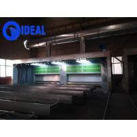 Hot selling high efficiency environmental telescopic movable type spray booth