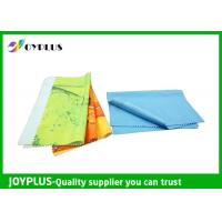 Wholesale Eco Friendly Microfiber glass cleaning Cloth , Colorful Microfiber Lens Cleaning Towel from china suppliers