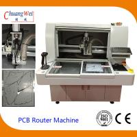 Wholesale 220V 4.2KW PCB Router Depanelizer With Double Working Tables 113*140*108cm from china suppliers