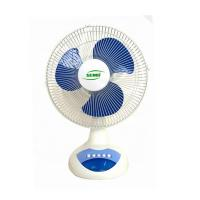 China AC DC Rechargeable Table Fan With Built In Battery For Air Cooling Appliance on sale