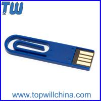 Buy cheap Hotsale Coloful Paper Clip Usb Flash Drive Delicate Design for Gifts from Wholesalers