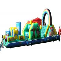 Wholesale ODM Cartoon Inflatable Obstacle Course , Vertical Rush Obstacle Course Inflatables from china suppliers