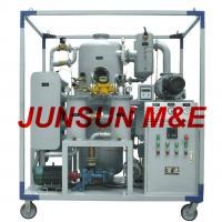 Buy cheap High Vacuum and Good Performance Transformer Oil Dehydrator / Oil Purifier with Superior Quality from wholesalers