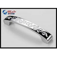 Wholesale zinc Alloy Golden Classical Kitchen Cupboard Door Handles / Silver Arched Dresser Pulls from china suppliers