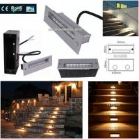 Buy cheap Decorative Outdoor Step 5730 SMD Recessed LED Wall for Stair Lights Night lights plug in wall from Wholesalers