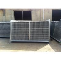 Wholesale 2.1m x 3.3m 3.5m widht Auckland temp construction site secuirty fence from china suppliers