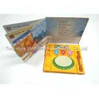 Wholesale Instruments Drum Baby Sound Books Intellectual Indoor educational toy from china suppliers
