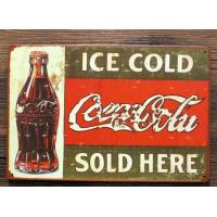 Wholesale 15.5*30cm Vintage Metal Signs  Zinc Alloy Commercial Use In Souvenir from china suppliers