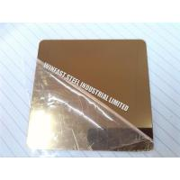 Hairline Finish Cold Rolled Stainless Steel Sheet Decorative ASTM Standard