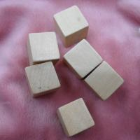 Buy cheap natural wooden blocks 15mm wood cubes unfinished wood blocks from wholesalers