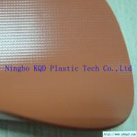 Wholesale 1050 gsm Orange PVC Oil Fence Fabric from china suppliers