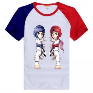 China Custom cheap t-shirt screen printing/ 100% cotton taekwondo t shirt  Men T shirt TaeKwonDo Mom funny t-shirt on sale