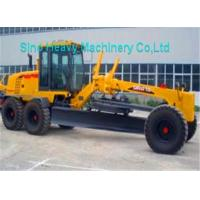 Wholesale 7000kg Payload SHMC GR215 Motor Grader for Road Construction , Yellow , White from china suppliers