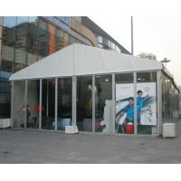 Wholesale Flame Retardant DIN4102 B1 10M Outdoor Event Tent With White PVC Roof Cover from china suppliers