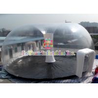 Wholesale PVC Airtight Tent For Beach , Inflatable Clear Dome Tent Rain Resistance from china suppliers