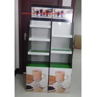 Wholesale Milk tea Cardboard Floor Display LOGO printed , lightweight and strong from china suppliers