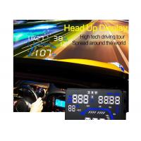 Wholesale Plug and play automobile heads up display with LCD display Apply to any car from china suppliers