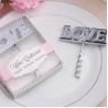 Metal Materials Love Wine Bottler Opener Wedding Favor Party Favor for sale