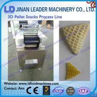 Wholesale Multi-functional wide output range 2d 3d pellet snack processing line from china suppliers