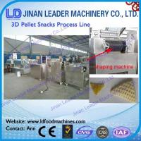 Wholesale Low consumption single screw extruder 2d 3d snacks pellets food machine from china suppliers