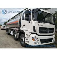Wholesale Dongfeng 8*4  27.5cbm Fuel Tank Trailer 340HP  Aluminium Alloy For Transporting Oil from china suppliers
