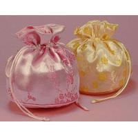 Wholesale embroidery satin jewelry pouch from china suppliers