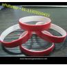 custom adjustable silicone wristband souvenirs silicone wristband for events for sale