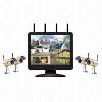 Wholesale Digital Wireless 15-inch LCD DVR and Camera System from china suppliers